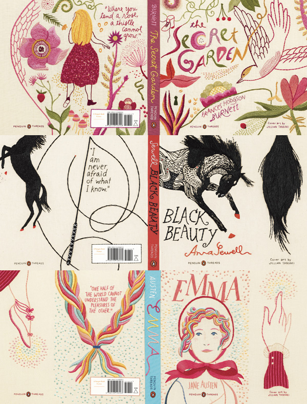Secret Garden, Black Beauty and Emma
