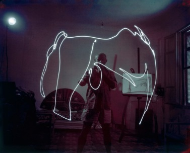 Picasso Uses Light Pen